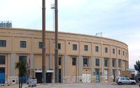 Arena della Vittoria; Ingresso su Via di Maratona