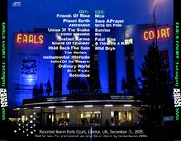 1 Recorded live in Earls Court, London, UK, December 21st, 2005. duran duran wikipedia 1
