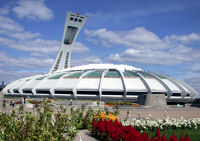 Olympic Stadium, Montreal wikipedia david bowie duran duran tour 1987 glass spider canada