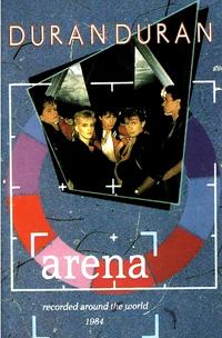 Duran duran arena postcard