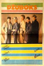 DZUBOKS 24 JUNE 1983 DURAN DURAN MAGAZINE RARE