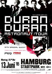 Poster HAMBURG DURAN DURAN