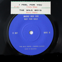 I Feel For You The Wild Boys - Malaysia E 307 wikipedia duran duran