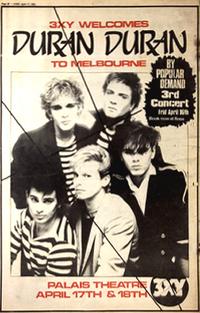 Ad 2 Palais Theatre, Melbourne, Australia wikipedia duran duran 1982