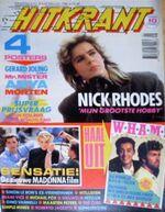 Hitkrant 8 '86 Duran duran magazine wikipedia durandurancollection collection nl com