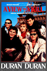 Poster duran duran 1985