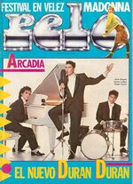 1 pelo magazine 1985 arcadia duran duran wikipedia