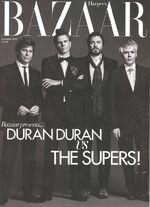 Harper's bazaar magazine december 2011 duran duran fashion discogs wiki