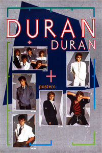 Poster 1984 duran duran 77