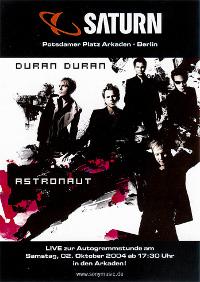 Duran duran saturn berlin signing