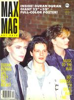 Max mag magazine duran duran no.12 1984