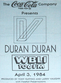 Duran duran april 3 84