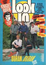 Look-in magazine no 34 duran duran 20 august 1983