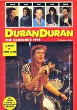 The fabulous five duran duran italian book jan 86 first edition wikipedia collection