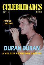Celebridades issue 11 Portuguese portugual magazine wikipedia duran duran