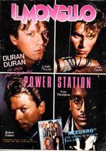 MONELLO no.18 1985 italia magazine duran duran