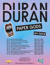 Paper-Gods-Tour-duran duran album wikipedia