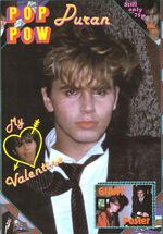 Magazine duran-duran-pop-pow-1980s-poster-magazine-no-15-with-john-taylor discogs