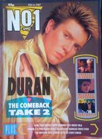 1987 magazine no.1 simon le bon duran duran