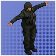 Bad Guy Model Duty Calls