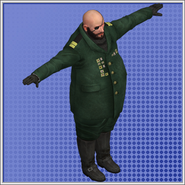 Leader Of Bad Guys Model Duty Calls