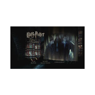 Harry Potter and the Order of the Phoenix - Main Menu Screenshot