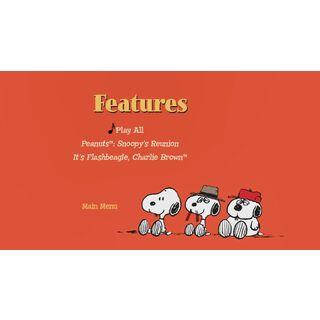 Snoopy's Reunion DVD - Features Menu Screenshot