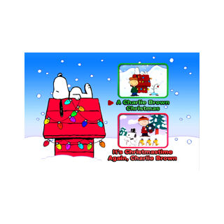 A Charlie Brown Christmas Main Menu