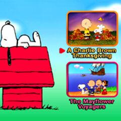 A Charlie Brown Thanksgiving - Main Menu