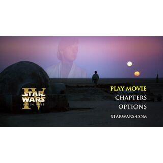 Star Wars: A New Hope - Tatooine Main Menu Screenshot