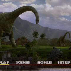 <i>Jurassic Park 3</i> Main Menu