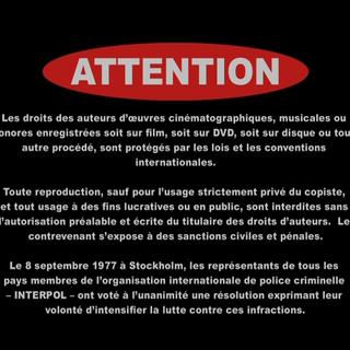 Spanish international FBI Warning