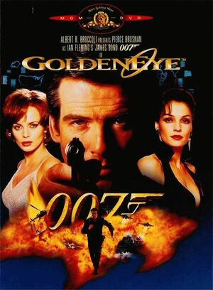 Goldeneye 1997 dvd cover