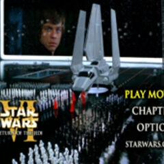 Star Wars: Return of the Jedi - Death Star Main Menu Screenshot