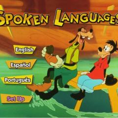 DVD Spoken Languages Menu