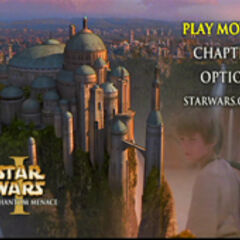 Star Wars: The Phantom Menace - Naboo Main Menu Screenshot