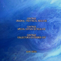 James Cameron's Avatar: Disc Two Menu