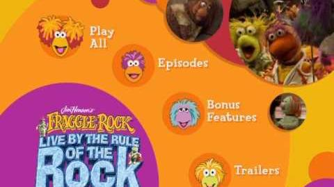 Fraggle Rock - Live By the Rule of the Rock Video Manager Menus