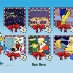 The Simpsons Christmas - Scene Selection