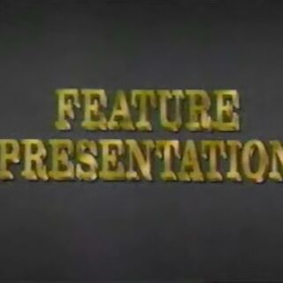 Feature Presentation (VHS only)