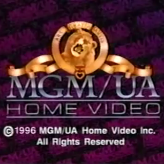MGM/UA Home Video Copyright screen (1996)