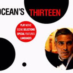 Ocean's Thriteen Main Menu Screenshot