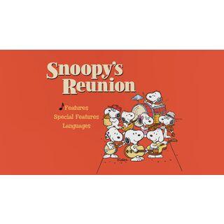 Snoopy's Reunion DVD - Main Menu Screenshot