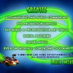 Credits Menu