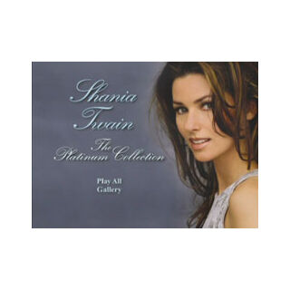 Shania Twain: The Platinum Collection - Main Menu Screenshot