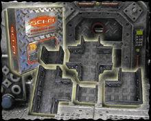 Resin Sci-Fi Passage Set