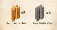 DP-P Double Posts