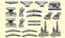 Resin Cavernous Chasm Set