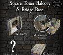 4-SQUTB Square Tower Balcony & Bridge Base