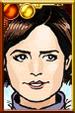 Clara Oswald + Ski Portrait